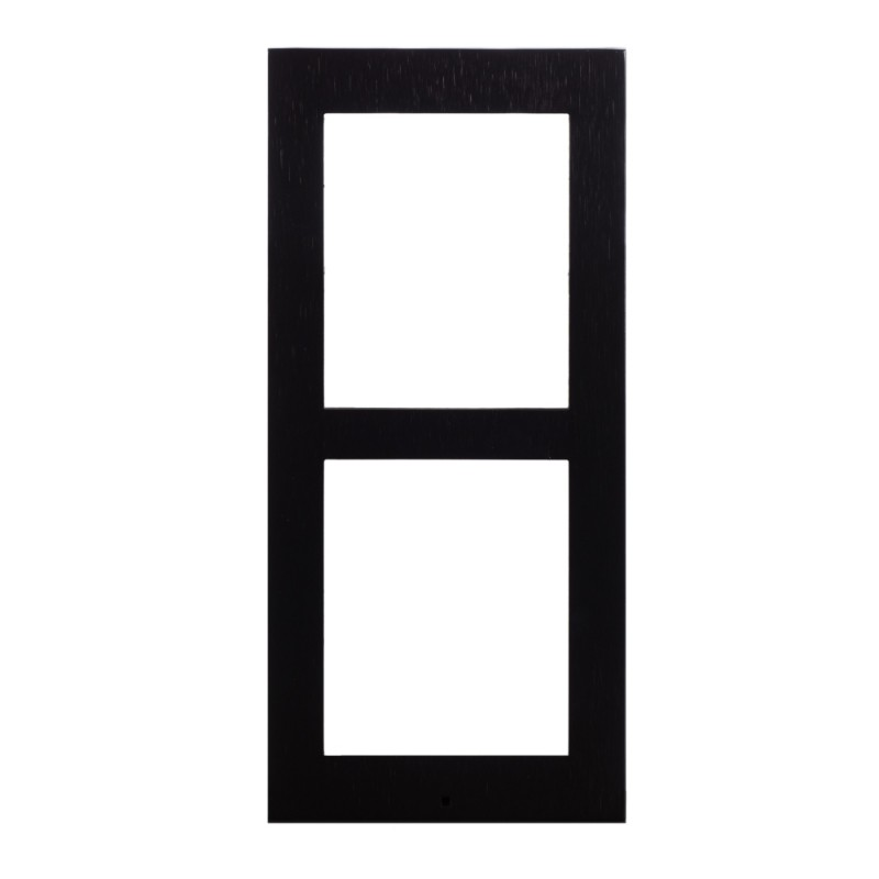 2N® Surface Mounting Frame for 2-modules 9155022B (black)
