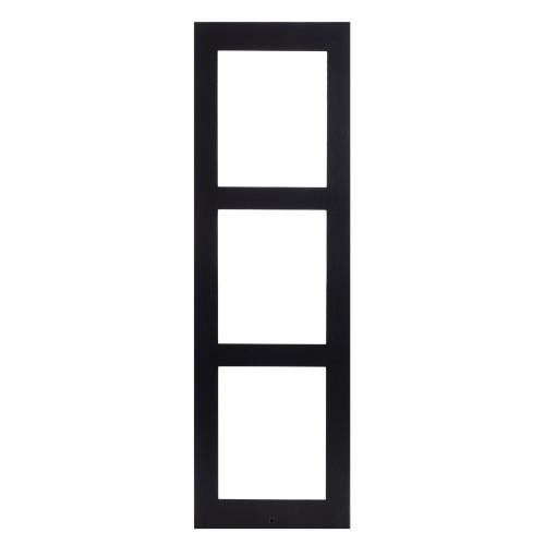 2N® IP Verso Поверхностная монтажная рама 3 модуля 9155023B (черный)