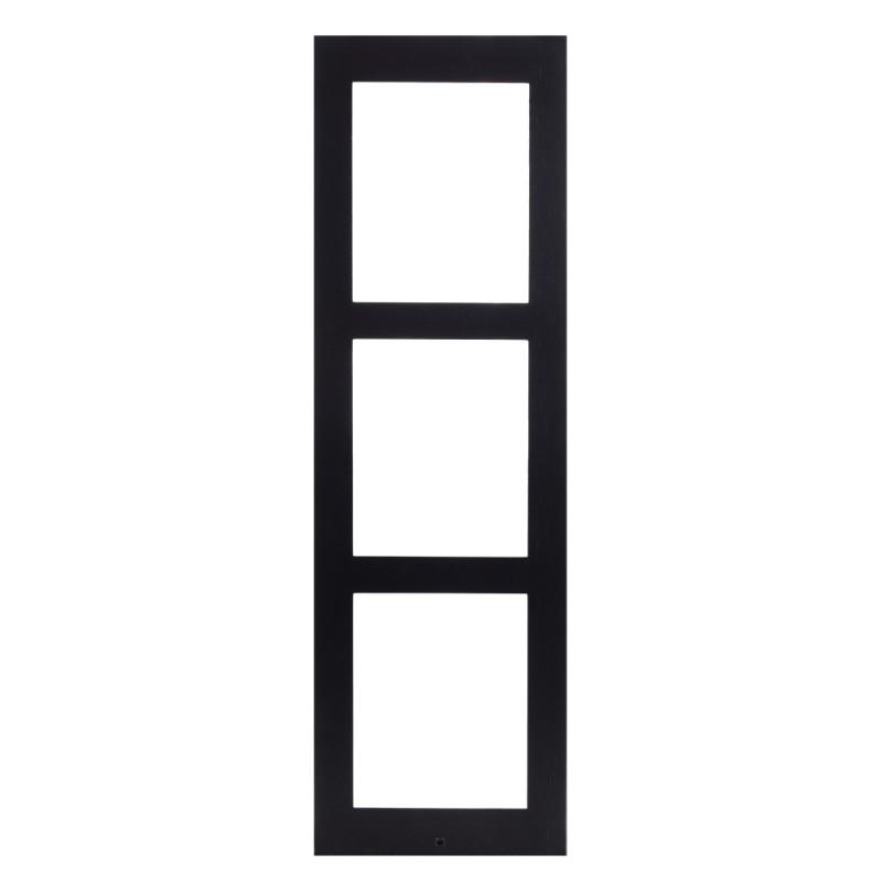 2N® IP Verso -Поверхностная монтажная рама 3 модуля 9155023B (черный)