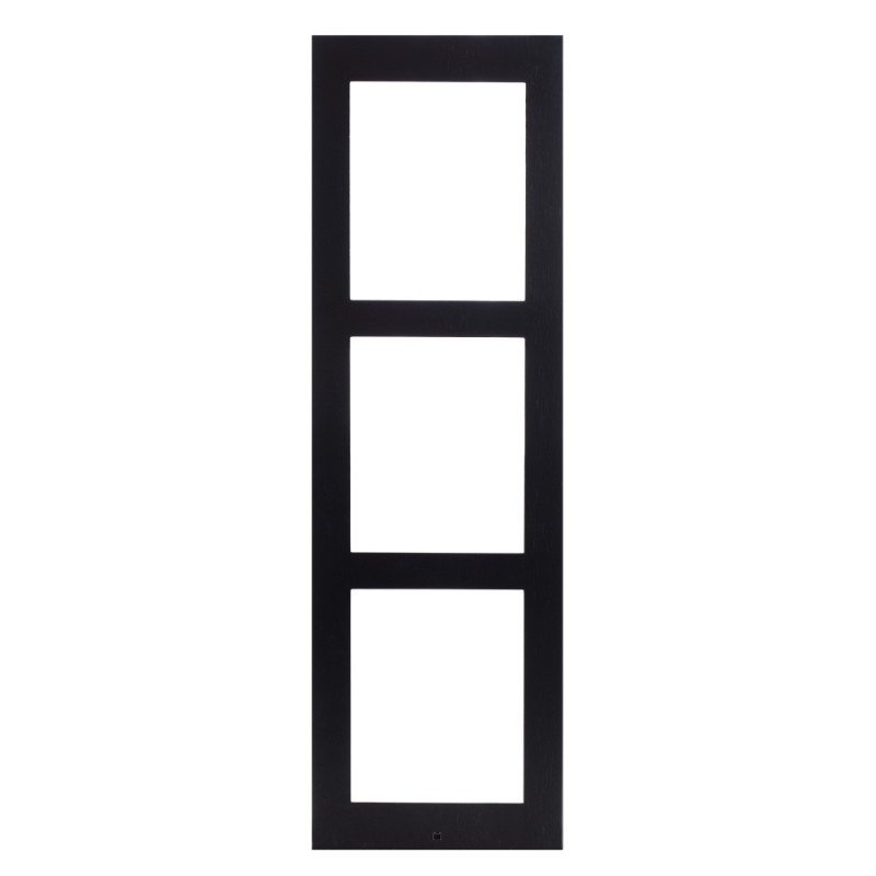 2N® Surface Mounting Frame for 3-modules 9155023B (black)