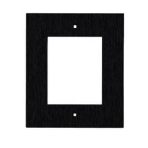 2N® Cadre pour installation encastrée 1 module 9155011B (noir)