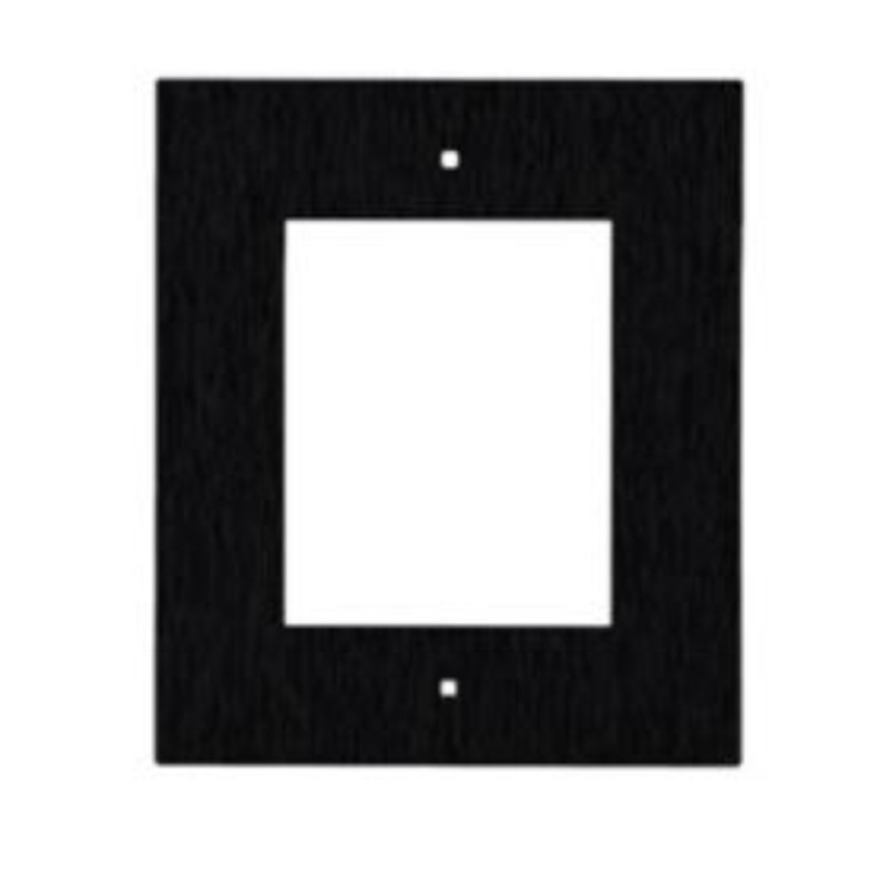 2N® Flush Mounting Frame for 1-Module 9155011B (black)