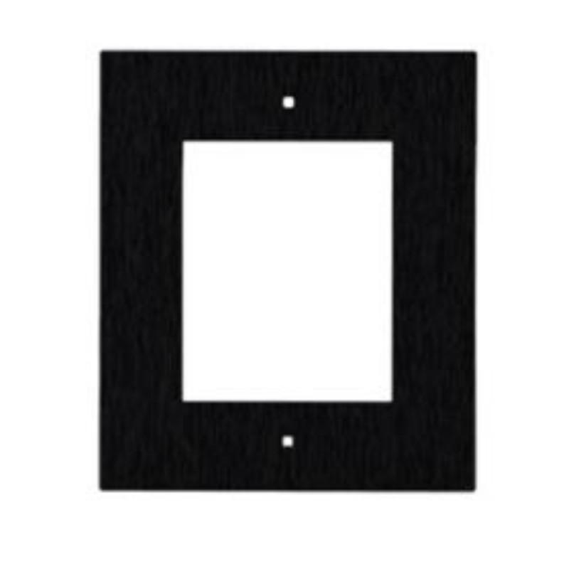 2N® IP Verso - Скрытая монтажная рама для 1-модуля 9155011B (черная)