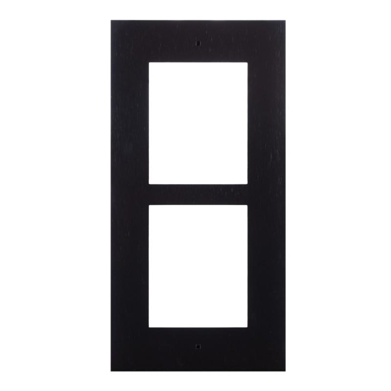 2N® IP Verso - Скрытая монтажная рама для 2-модулей 9155012B (черная)