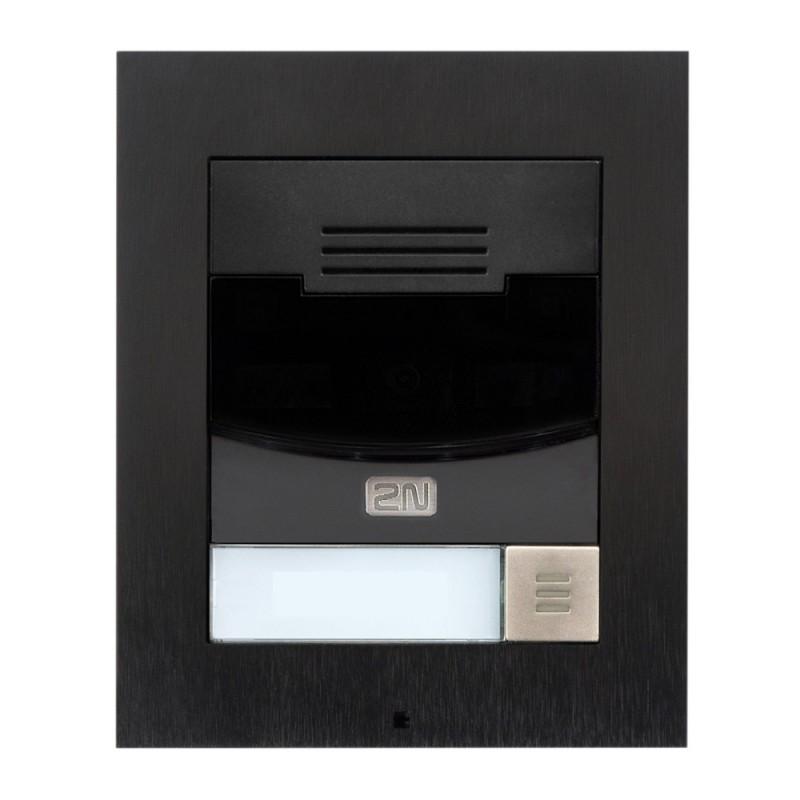 2N® IP Solo – installation sur le mur 9155301CBS (noir)