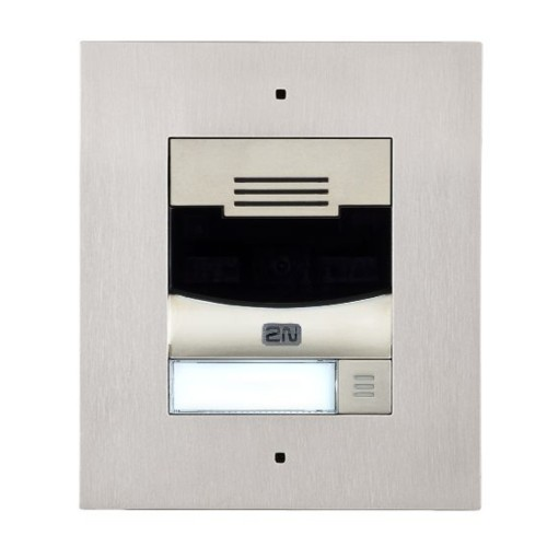 2N® IP Solo – Montaje empotrado 9155301CF (níquel)