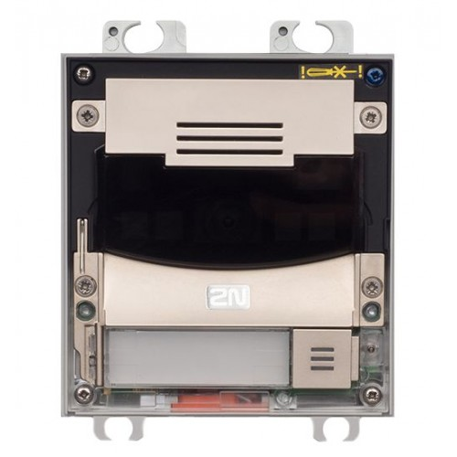 2N® IP Solo – Installation dans le mur 9155301CF (nickel)