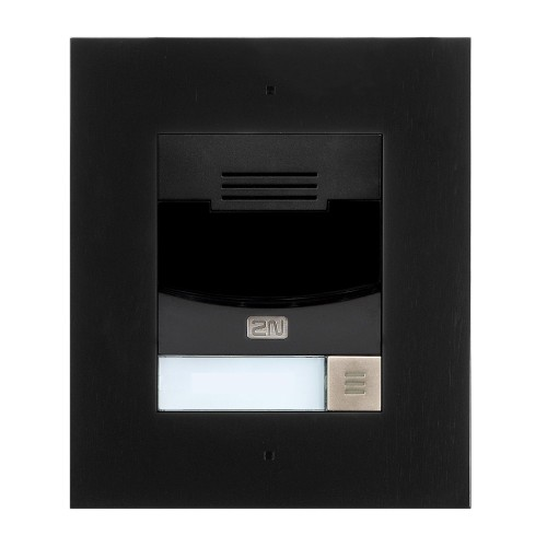 2N® IP Solo – Installation dans le mur 9155301CBF (noir)