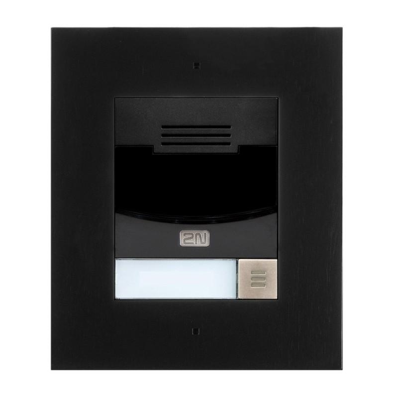 2N® IP Solo – Flush Mounted 9155301CBF (black)