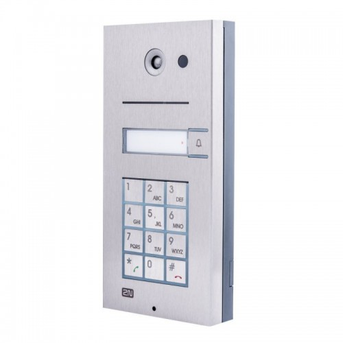 2N® IP Vario 1 кнопка с клавиатурой 9137111KU