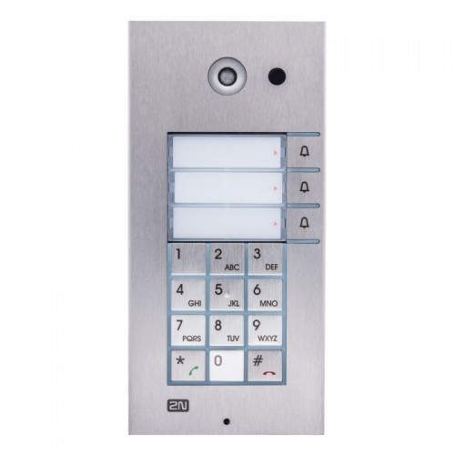 2N® IP Vario 3 boutons + clavier 9137131KU