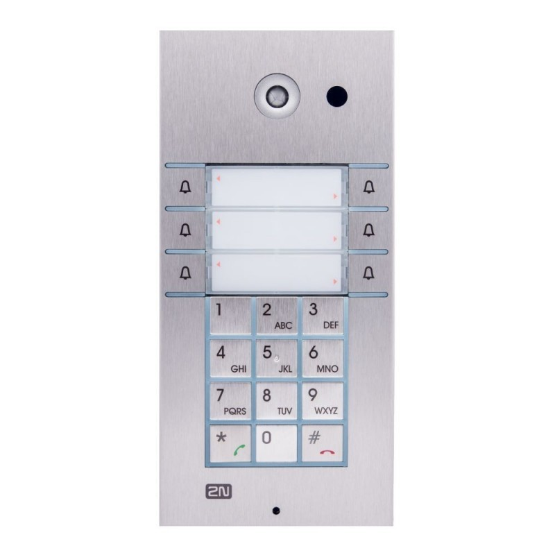 2N® IP Vario 6 boutons + clavier 9137161KU