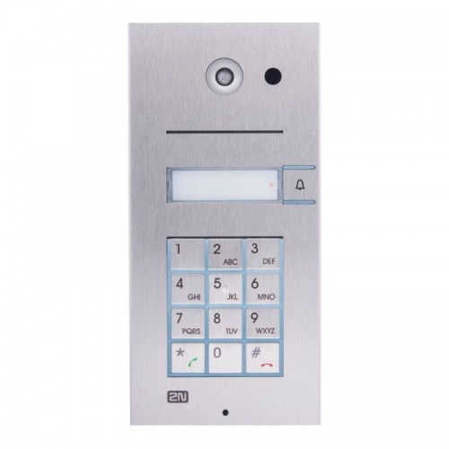 2N® IP Vario 1 button  + keypad + camera 9137111CKU