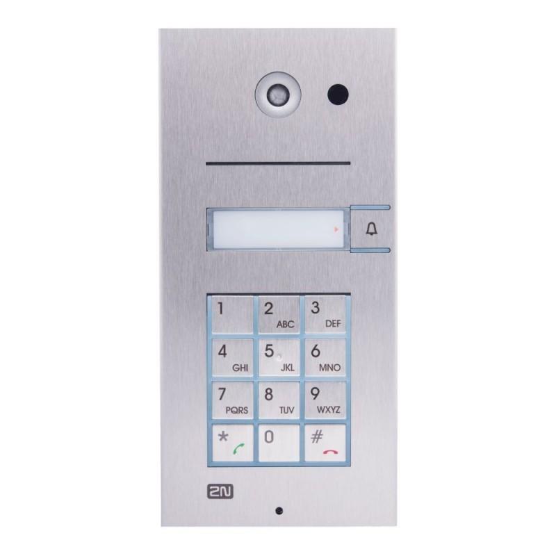 2N® IP Vario 1 botón con teclado y cámara 9137111CKU