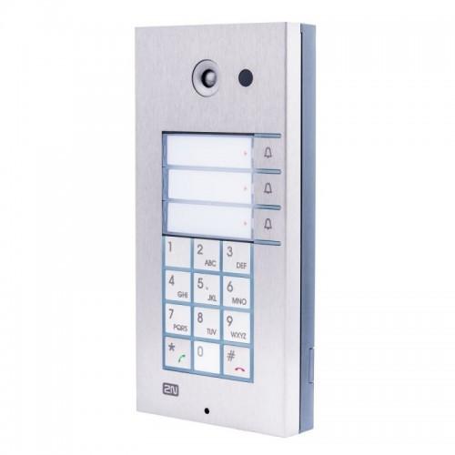 2N® IP Vario 3 botones con teclado y cámara 9137131CKU