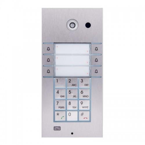 2N® IP Vario 3x2 botones con teclado y cámara 9137161CKU