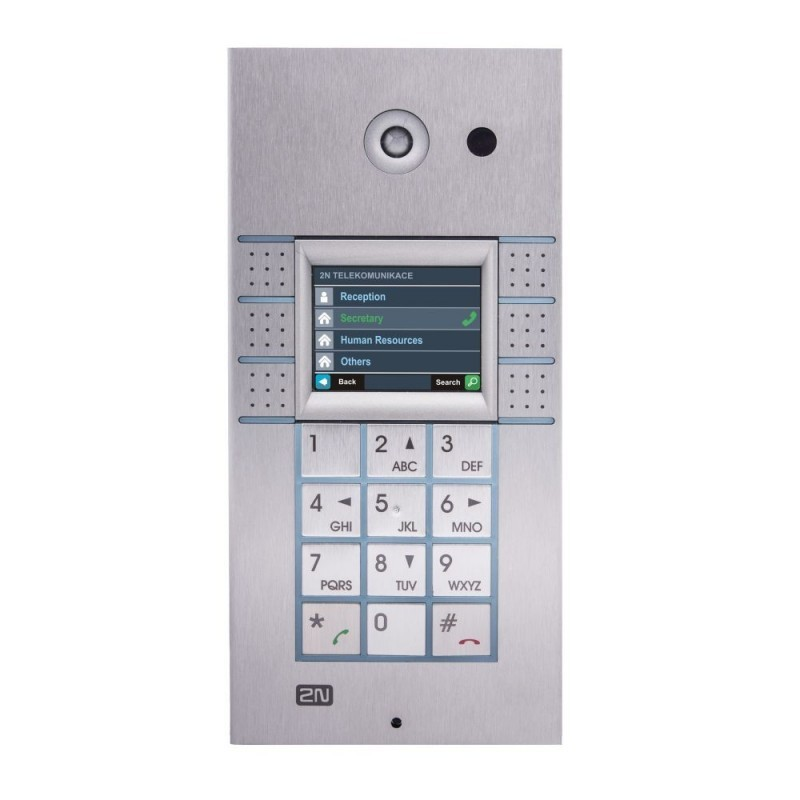 2N® IP Vario 3x2 botones con pantalla y teclado 9137160KDU