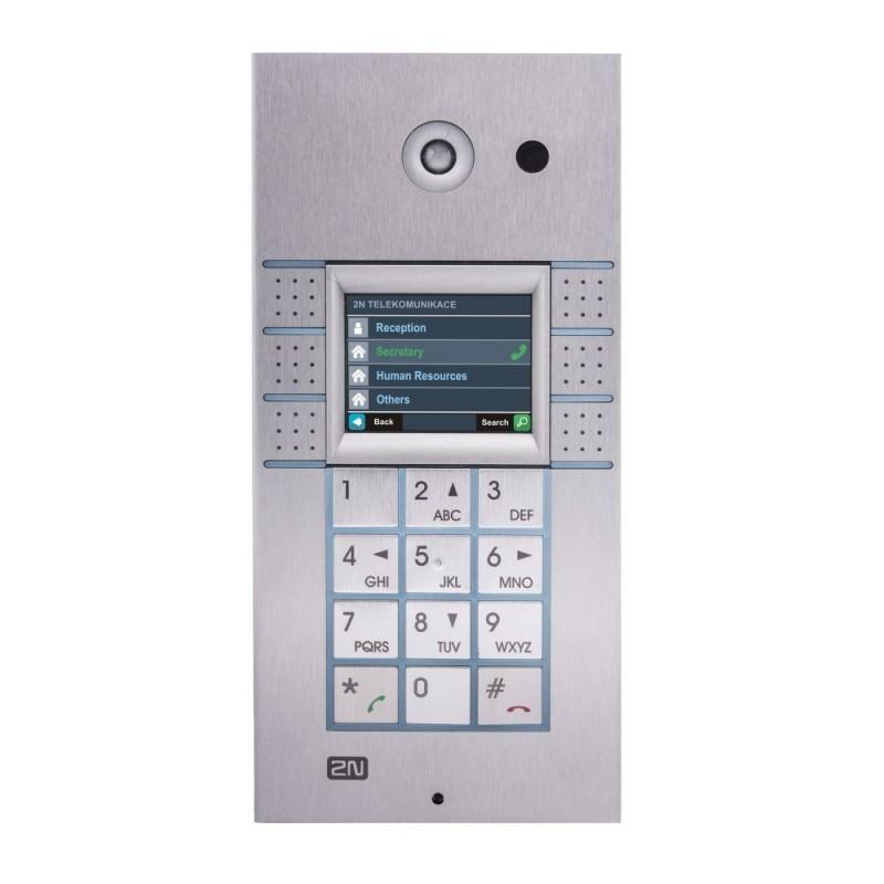 2N® IP Vario 3x2 кнопки с экраном и клавиатурой 9137160KDU
