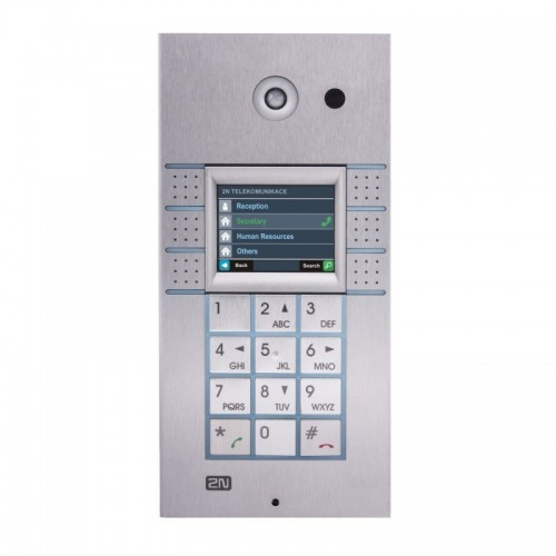 2N® IP Vario 3x2 buttons + keypad + camera + display 9137160CKDU
