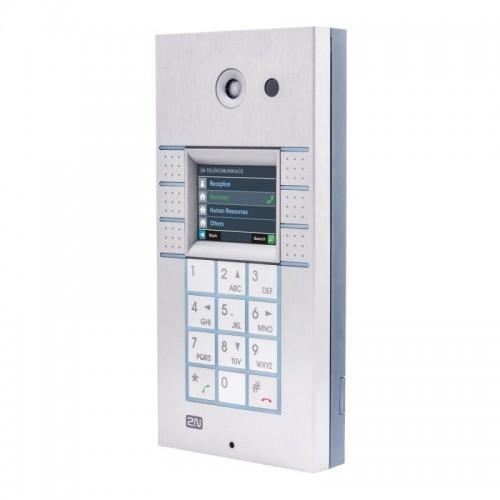 2N® IP Vario 3x2 botones con pantalla, teclado y cámara 9137160CKDU