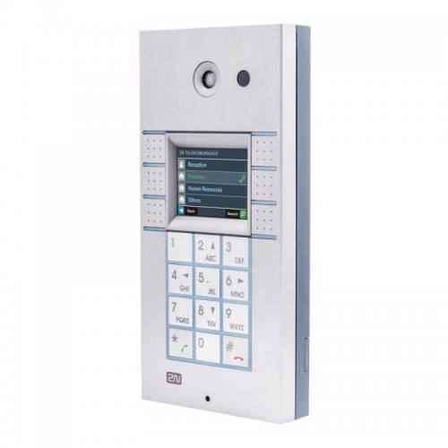 2N® IP Vario 3x2 кнопки с экраном, клавиатурой и камерой 9137160CKDU