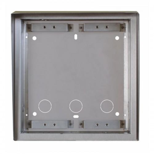 2N® tejado y caja empotrada para dos módulos 9135362E