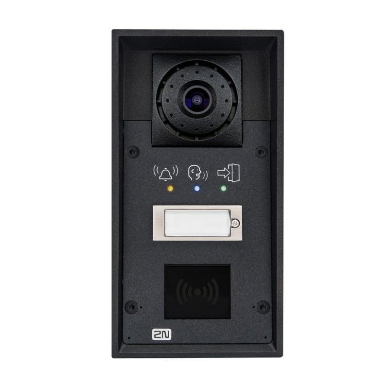 2N® IP Force 1 botón con cámara & pictogramas (preparado para lector de tarjetas) 9151101CRPW