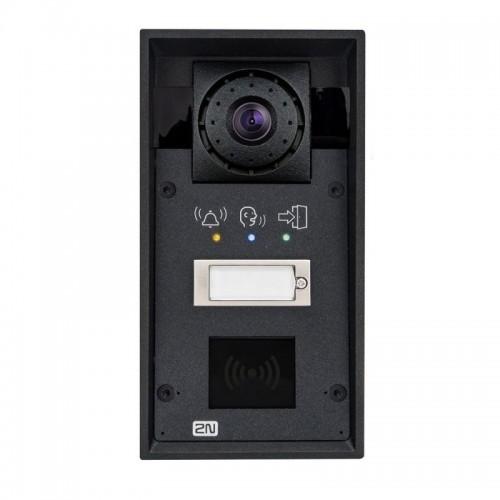 2N® IP Force 1 кнопка & камера HD & пиктограммы (считыватель карт опционально) 9151101CHRPW