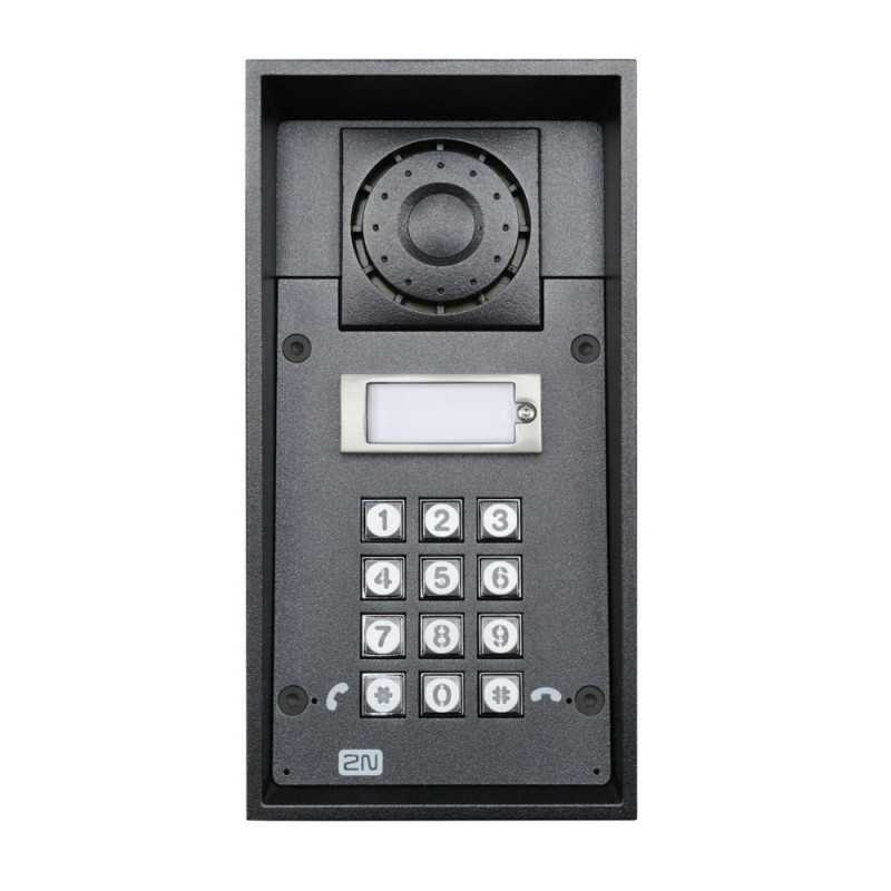 2N® IP Force 1 button & keypad 9151101KW