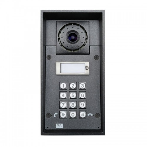 2N® IP Force 1 botón con cámara & teclado 9151101CKW