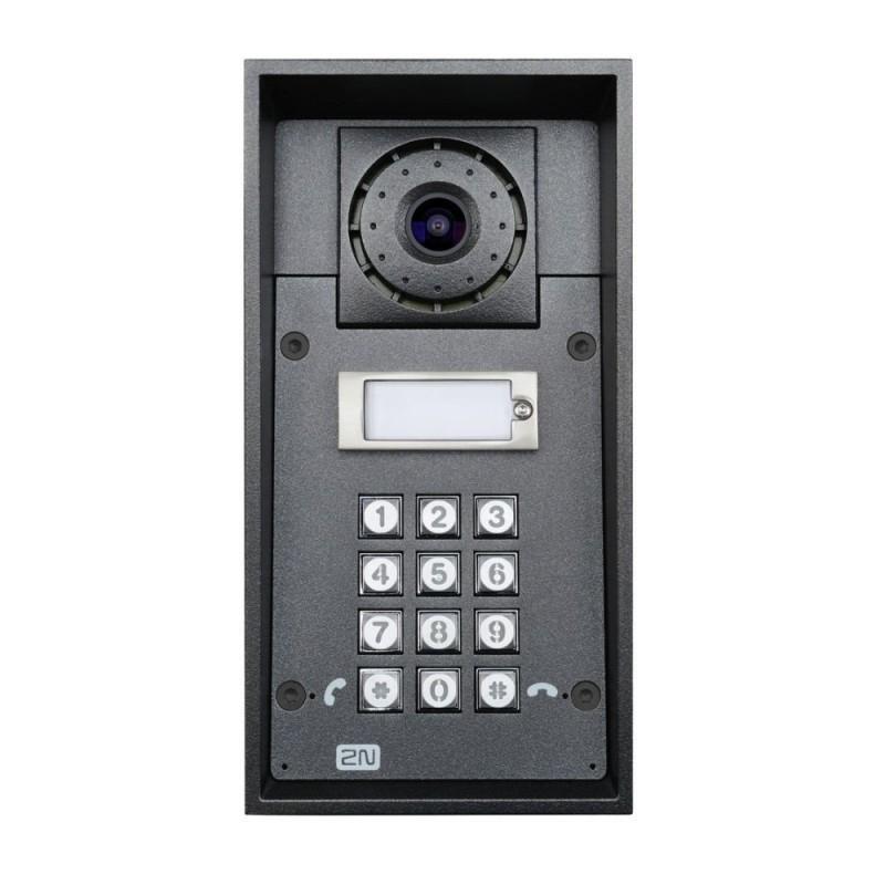 2N® IP Force 1 bouton, la caméra, le clavier 9151101CKW