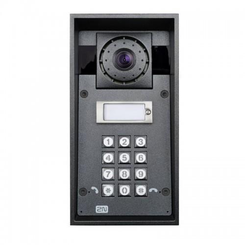 2N® IP Force 1 botón con cámara HD & teclado 9151101CHKW