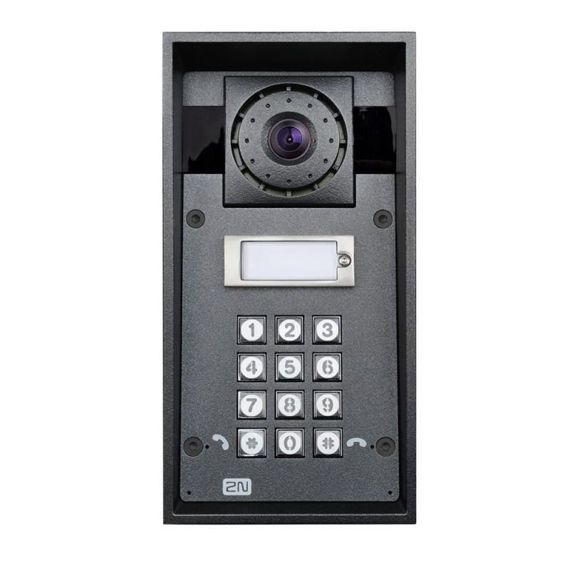 2N® IP Force 1 bouton, la caméra HD, le clavier 9151101CHKW