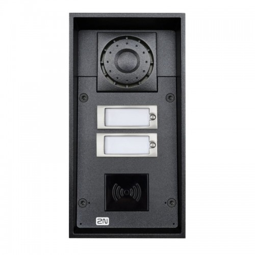 2N® IP Force 2 buttons (card reader ready) 9151102RW