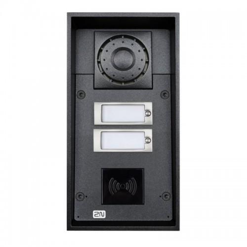 2N® IP Force 2 кнопки (считыватель карт опционально) 9151102RW