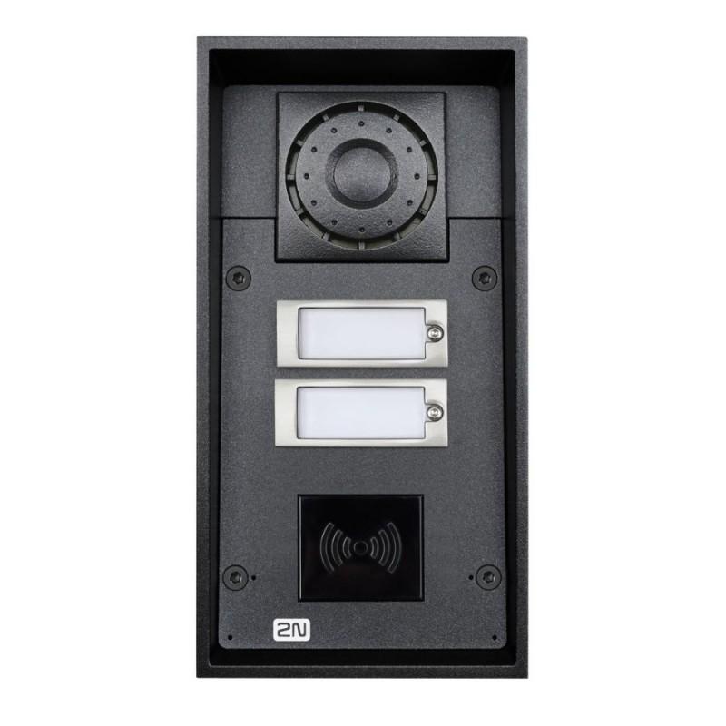 2N® IP Force 2 boutons, prêt pour le lecteur 9151102RW