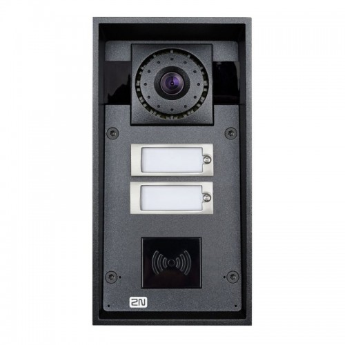 2N® IP Force 2 buttons & HD camera (card reader ready) 9151102CHRW