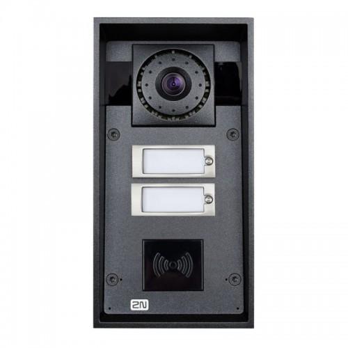 2N® IP Force 2 кнопки и камера HD (считыватель карт опционально) 9151102CHRW