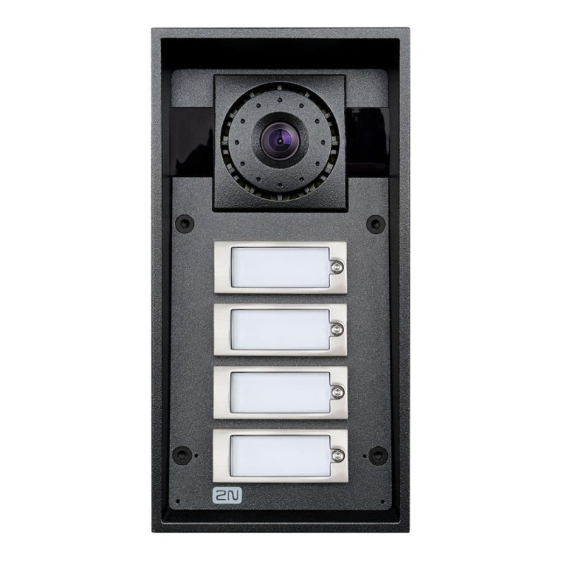 2N® IP Force 4 buttons & HD camera 9151104CHW