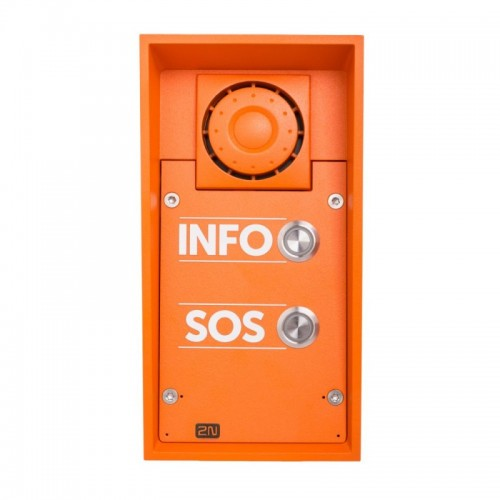 2N® IP Safety - 2 boutons, l'haut-parleur 10W, 9152102W