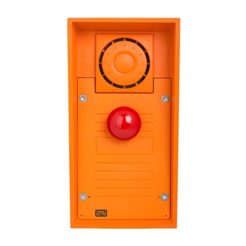 2N® Helios IP Safety - 1 botón de emergencia y altavoz de 10W 9152101MW