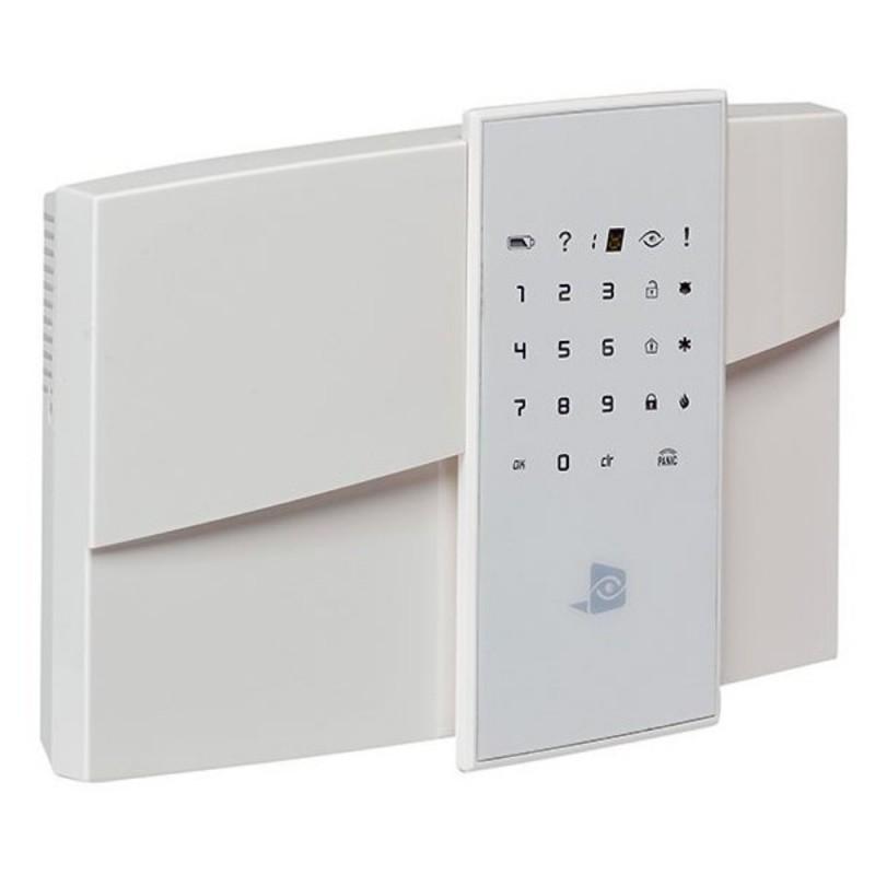 Videofied XL200GPRS – Centrale, Clavier intégré, Sirène 110 dB, Lecteur de proximité