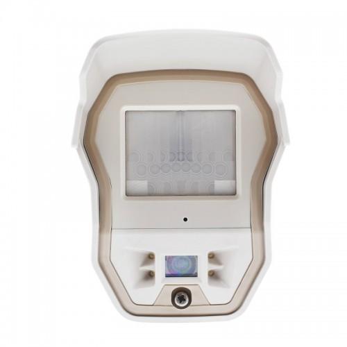 Videofied OMVC200 – Detector inalámbrico Exterior de Cortina con Cámara