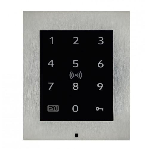 2N® Access Unit 2.0 Touch keypad & RFID - 125kHz, 13.56MHz, NFC 9160336