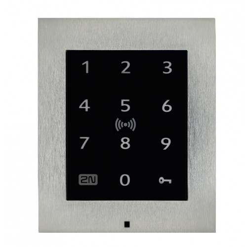 2N® Access Unit 2.0 Touch keypad & RFID - 125kHz, 13.56MHz, NFC 9160336