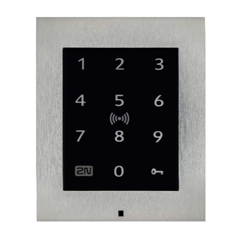 2N® Access Unit 2.0 Teclado táctil & RFID - 125kHz, 13.56MHz, NFC 9160336