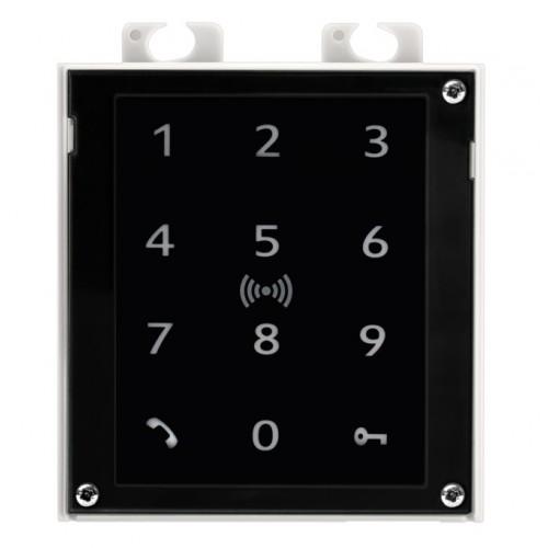 2N® IP Verso - Touch Keypad & RFID Reader 125 kHz, Secured 13.56 MHz, NFC 9155083