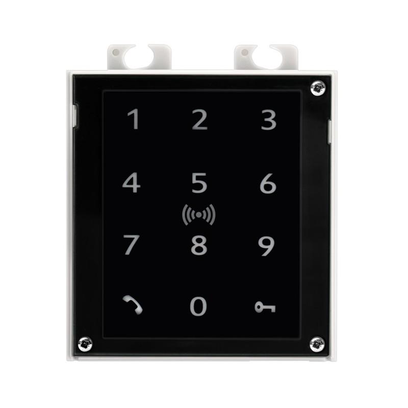 2N® IP Verso - Teclado Táctil y Lector RFID de 125 kHz, 13.56 MHz segura, NFC 9155083