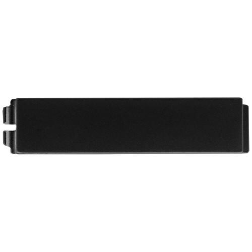 2N® IP Verso - Bouchon de 1 bouton 9155051B (noir)