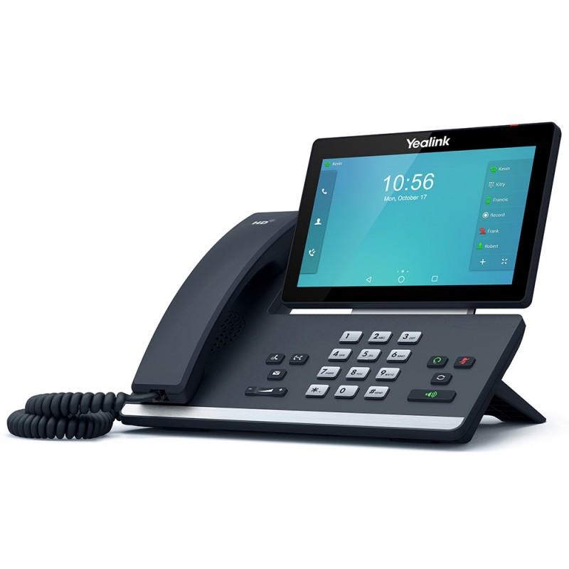 Yealink SIP-T58A Teléfono de video Gigabit IP de 16 líneas